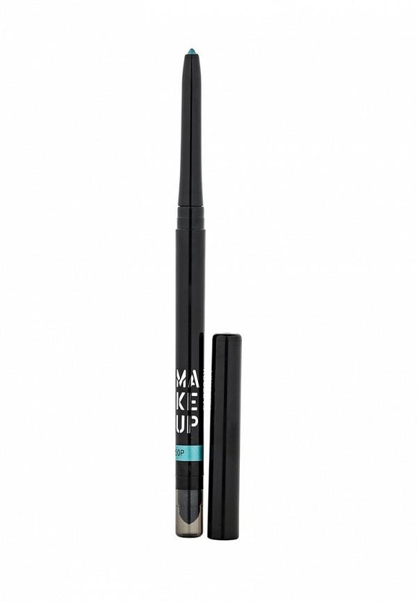 карандаш для глаз make up factory automatic eyeliner 01 цвет 01 black velvet variant hex name 000001 Карандаш для глаз Make Up Factory Make Up Factory MA120LWHDS73