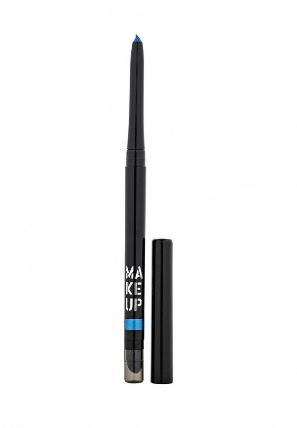 карандаш для глаз make up factory automatic eyeliner 01 цвет 01 black velvet variant hex name 000001 Карандаш для глаз Make Up Factory Make Up Factory MA120LWHDS74