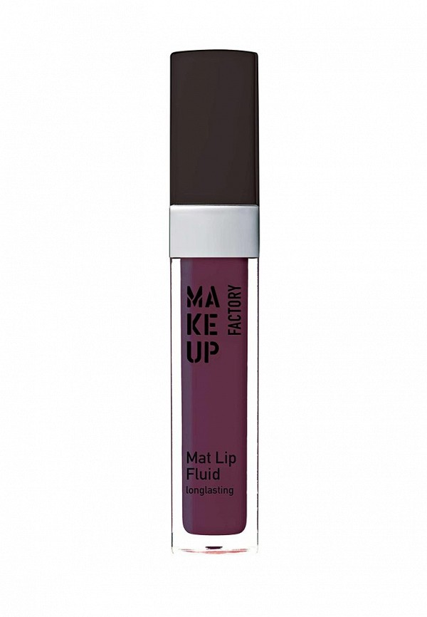 Купить Блеск для губ Make Up Factory, матовый устойчивый, Mat Lip Fluid longlasting т.91, баклажан, MA120LWYWW29, фиолетовый, Весна-лето 2018