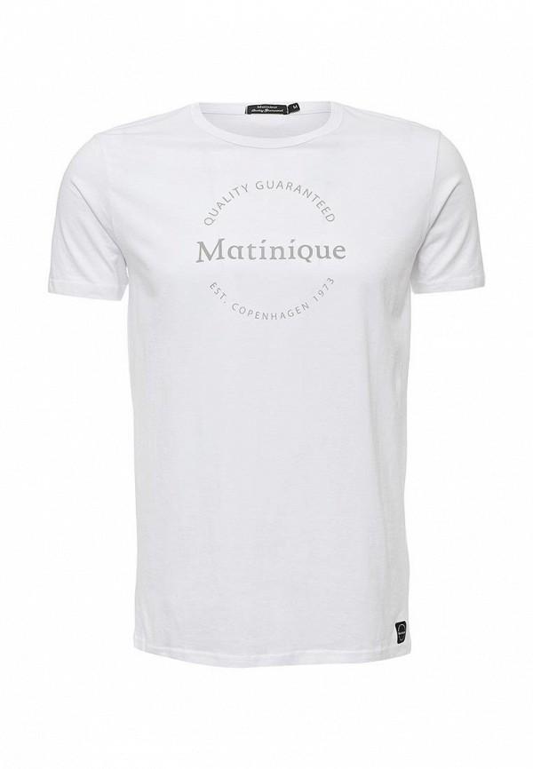 Футболка с надписями Matinique 30200873