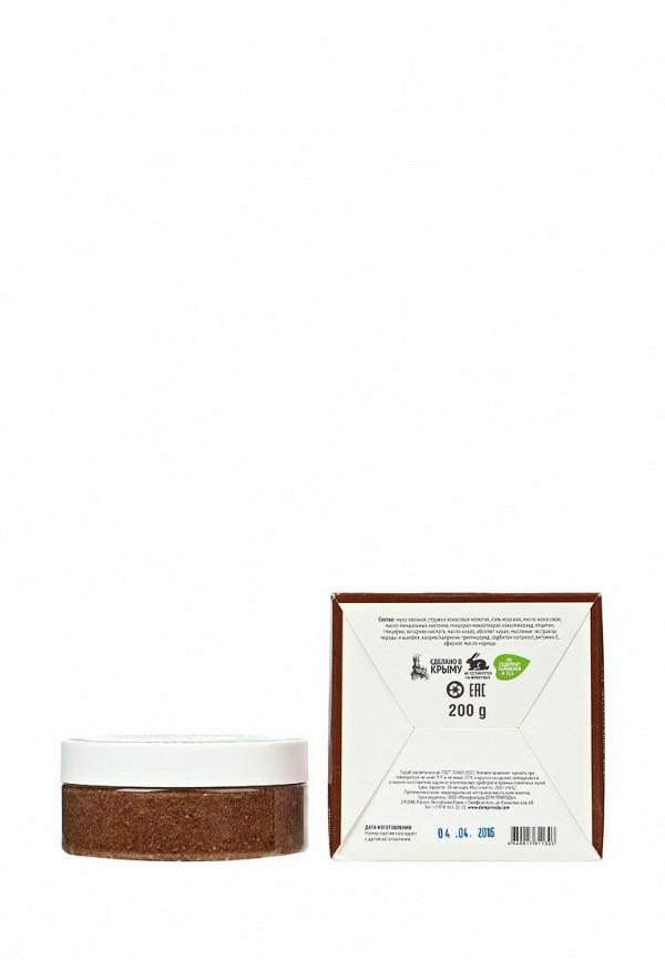 Скраб Мануфактура Дом Природы для лица Шоколадный пудинг для чувствительной кожи, 200 г