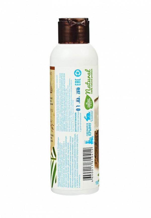 Масло Мануфактура Дом Природы кокосовое для лица Шоколад и ваниль, интенсивное питание, 140 г