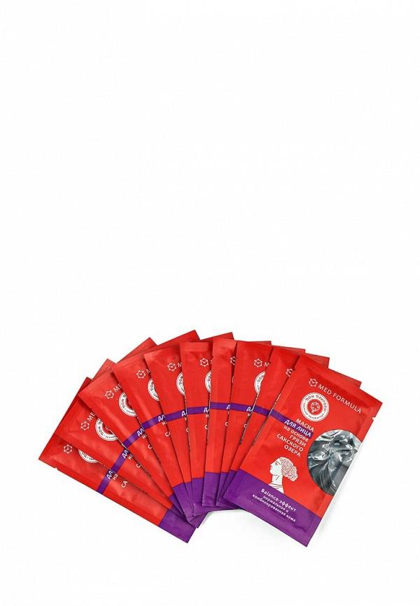 Набор масок 10 шт. Мануфактура Дом Природы для лица Balance-эффект  на основе грязи Сакского озера (для нормальной и комбинированной кожи)