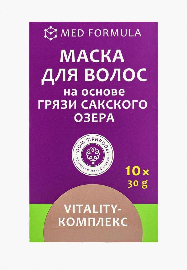 Купить Маска для волос Мануфактура Дом Природы, Vitality-комплекс на основе Сакской грязи, 10 саше, MA151LWLZG76, Весна-лето 2018