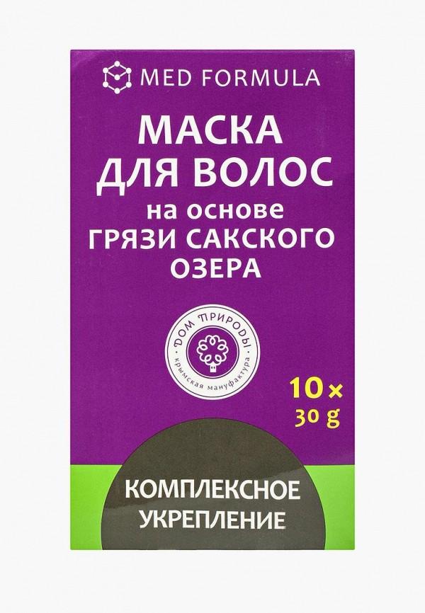 Купить Маска для волос Мануфактура Дом Природы, Комплексное укрепление (сильные корни) на основе Сакской грязи, 10 саше, MA151LWLZG77, Весна-лето 2018
