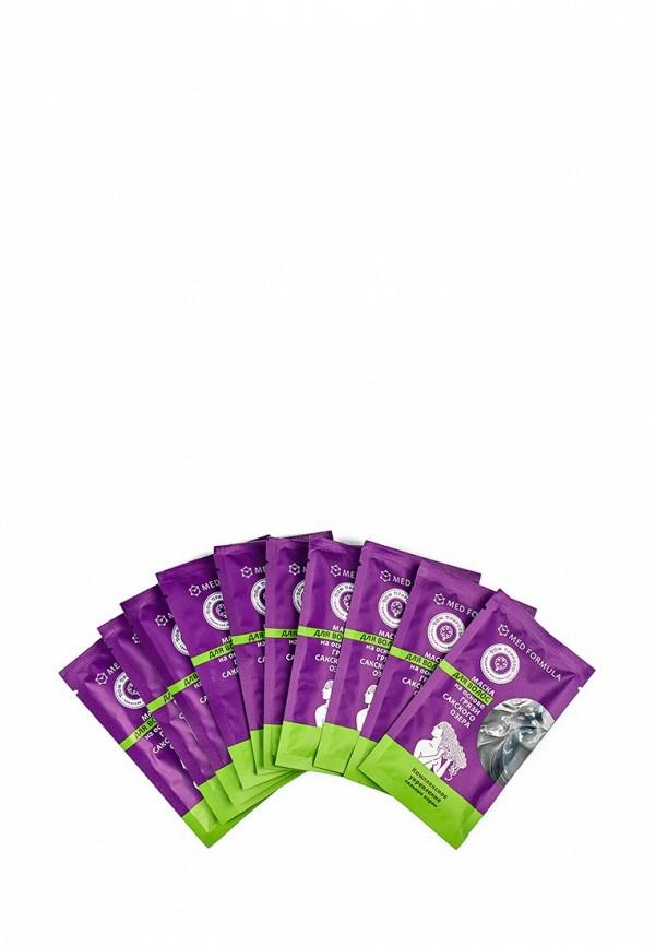 Маска Мануфактура Дом Природы для волос  Комплексное укрепление (сильные корни) на основе Сакской грязи, 10 саше