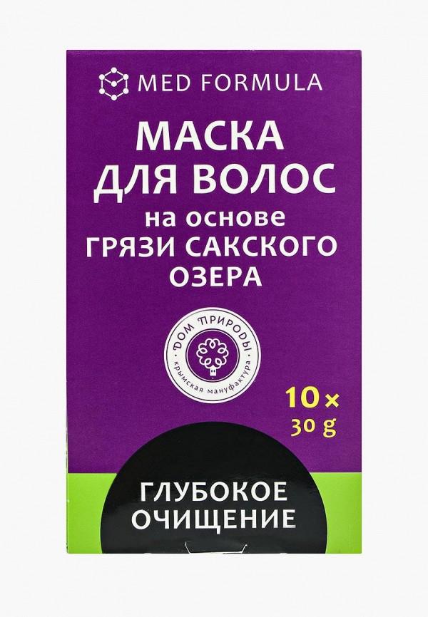 Купить Маска для волос Мануфактура Дом Природы, Глубокое очищение для жирных на основе Сакской грязи, 10 саше, MA151LWLZG78, прозрачный, Весна-лето 2018
