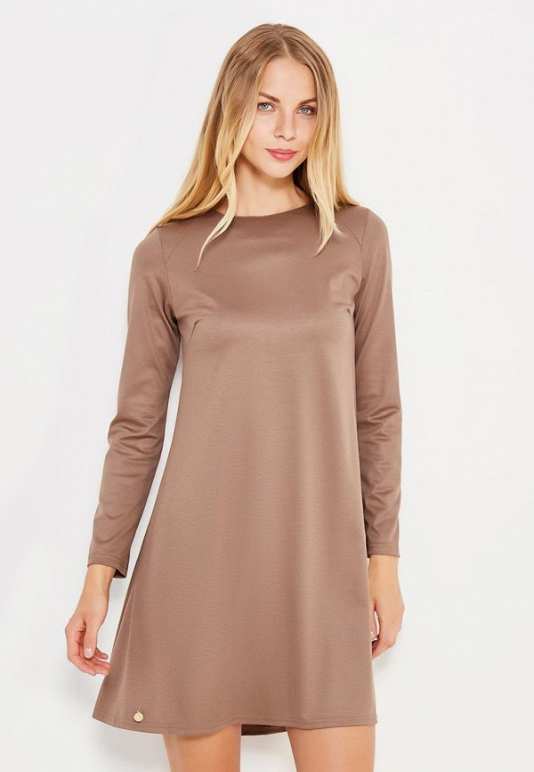 Платье Makadamia. Цвет: коричневый
