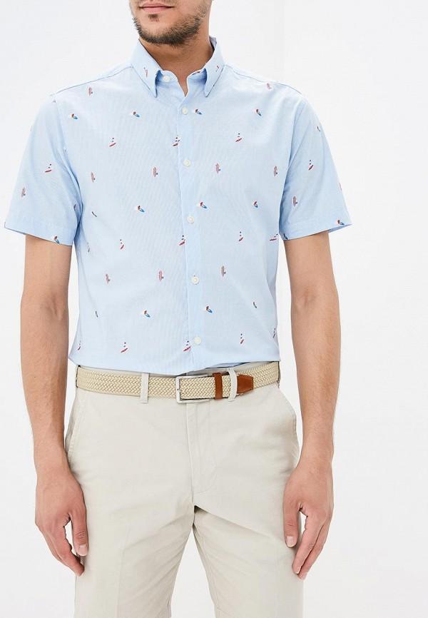 Купить Рубашка Marks & Spencer, MA178EMBJLE0, голубой, Весна-лето 2018