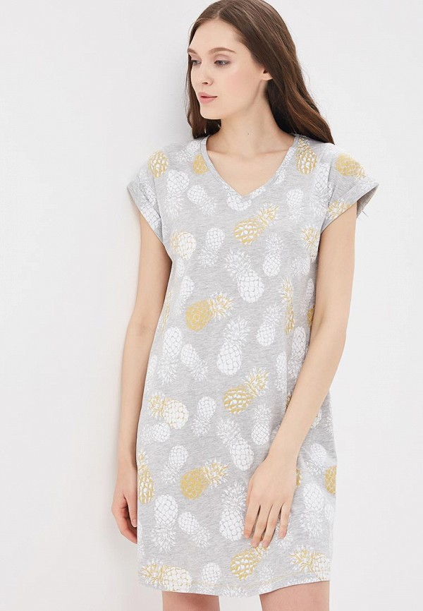 Купить Сорочка ночная Marks & Spencer, MA178EWBLAB1, серый, Весна-лето 2018