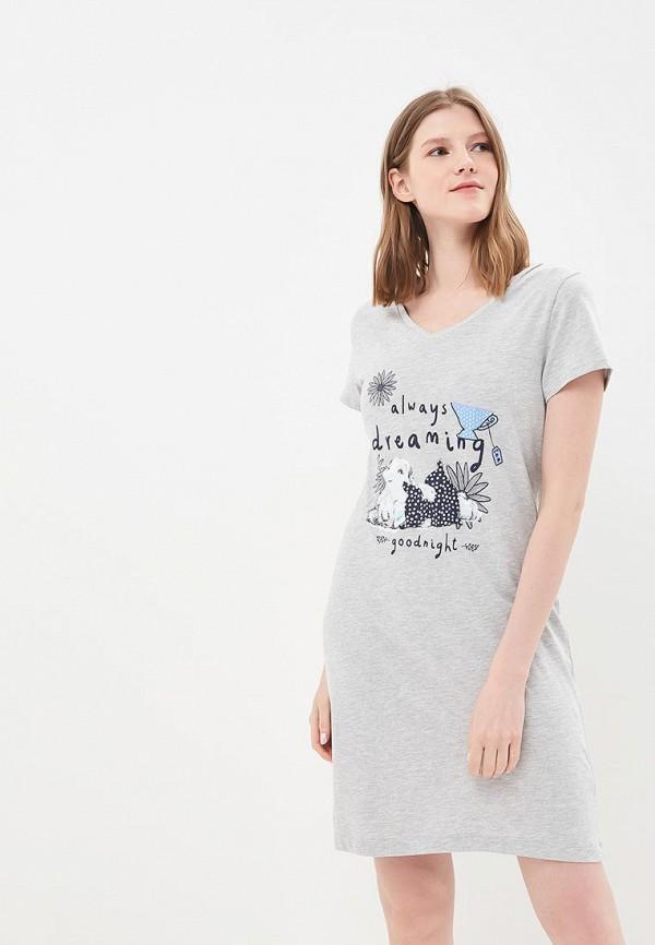 Купить Сорочка ночная Marks & Spencer, MA178EWBLAB6, серый, Весна-лето 2018