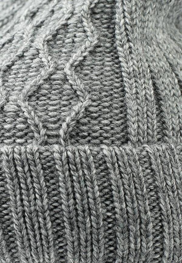Фото 12 - Шапку Maxval серого цвета