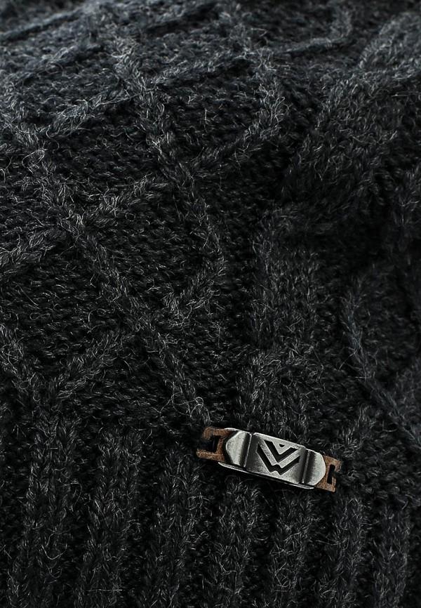 Фото 4 - Шапку Maxval черного цвета
