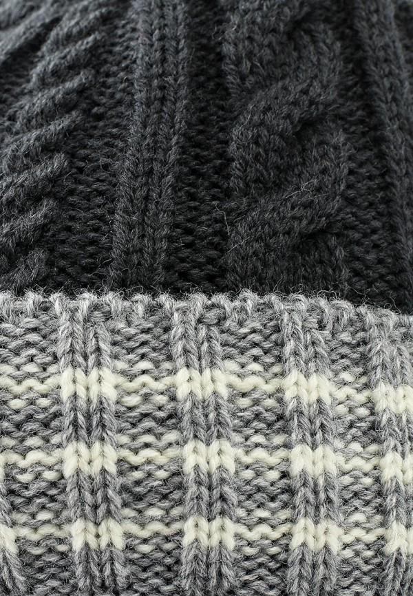Фото 4 - Шапку Maxval серого цвета