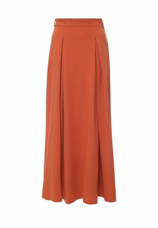 Юбка MadaM T. Цвет: оранжевый