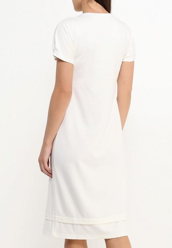 Фото 4 - женское платье MadaM T белого цвета