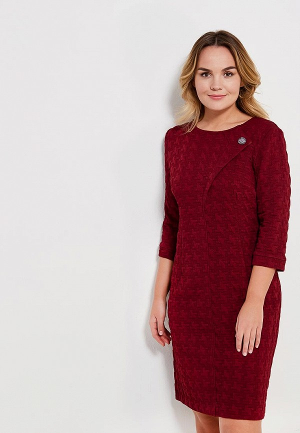 Купить Платье Бордового Цвета