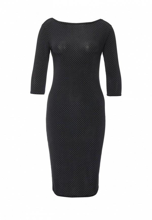 Платье-миди Madmilk (Мэдмилк) MM00197BK