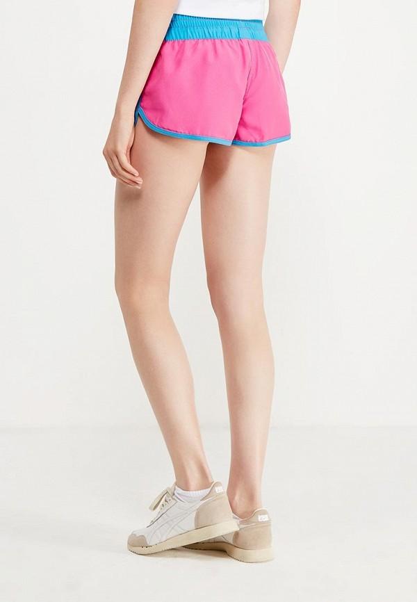 Фото 3 - женские шорты MadWave розового цвета