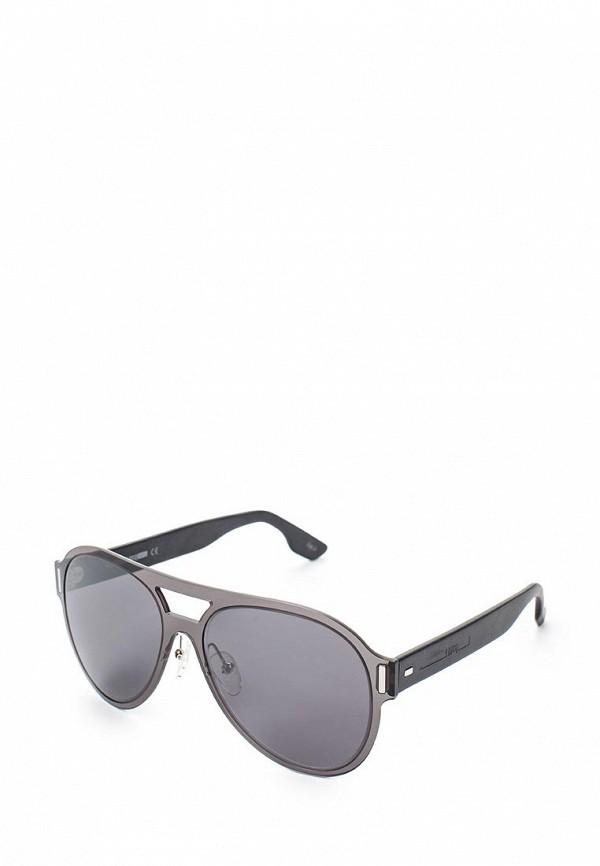 цена  Очки солнцезащитные McQ Alexander McQueen McQ Alexander McQueen MC010DMQYL55  онлайн в 2017 году