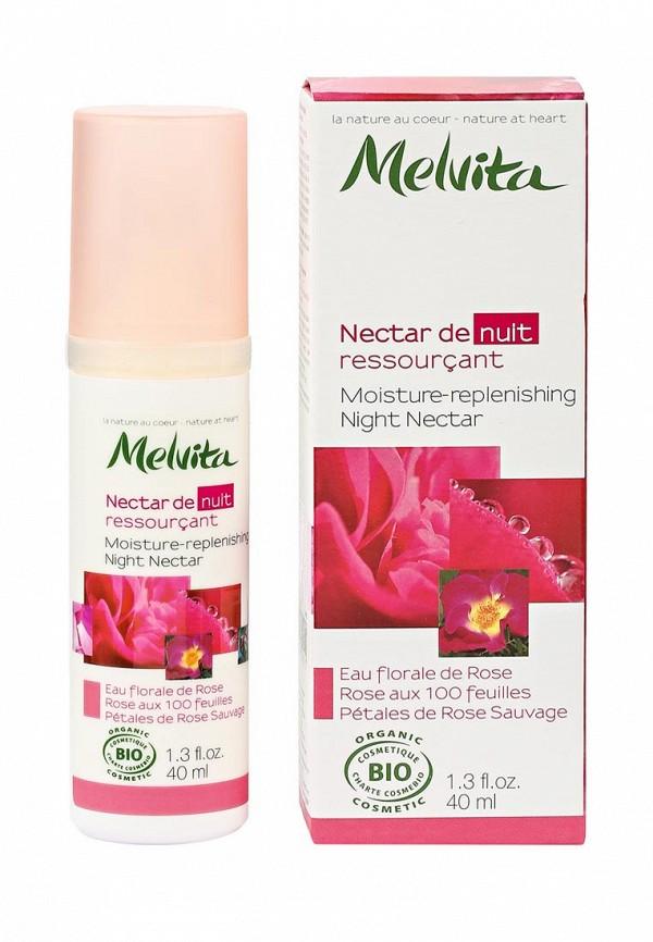 Крем Melvita Увлажняющий Ночной Розовый Нектар 40 мл