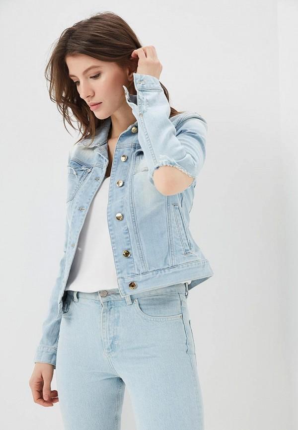 Купить Куртка джинсовая Met, ME486EWAPJQ4, голубой, Весна-лето 2018