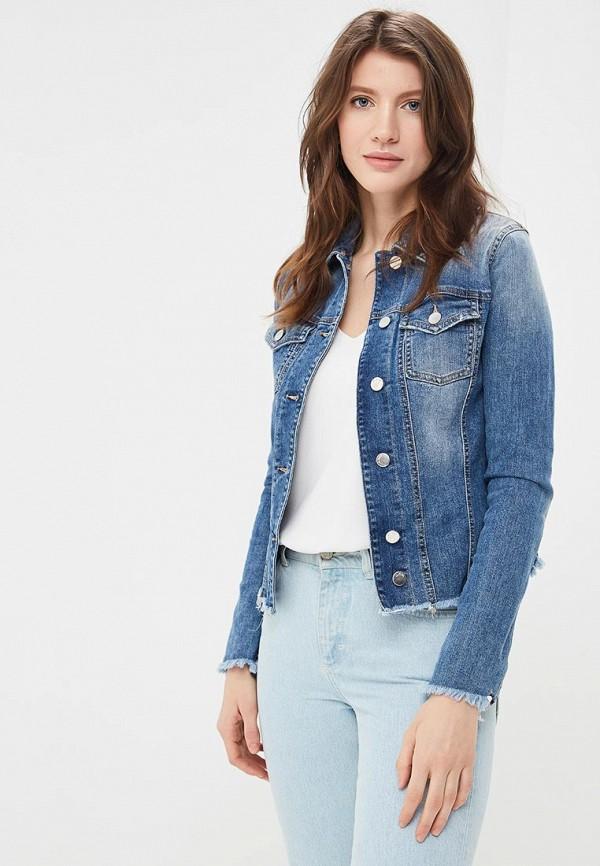 Купить Куртку джинсовая Met синего цвета