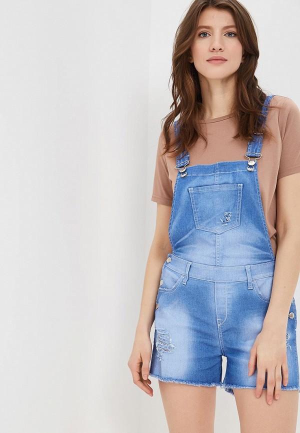 Комбинезон джинсовый Met Met ME486EWAPJX5 trendy off the shoulder long sleeve mini dress for women