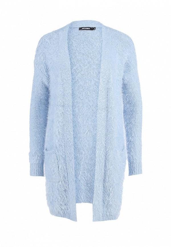 f0f3a473dcfe Кардиган женский MISSGUIDED Satomi Eyelash Knit Cardigan In Baby Blu ...