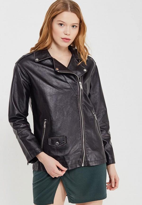 Куртка кожаная Miss Selfridge Miss Selfridge MI035EWARXQ6 куртка утепленная miss selfridge miss selfridge mi035ewzlt18