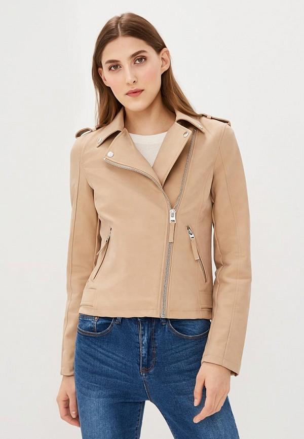 Куртка кожаная Miss Selfridge Miss Selfridge MI035EWAWIB1