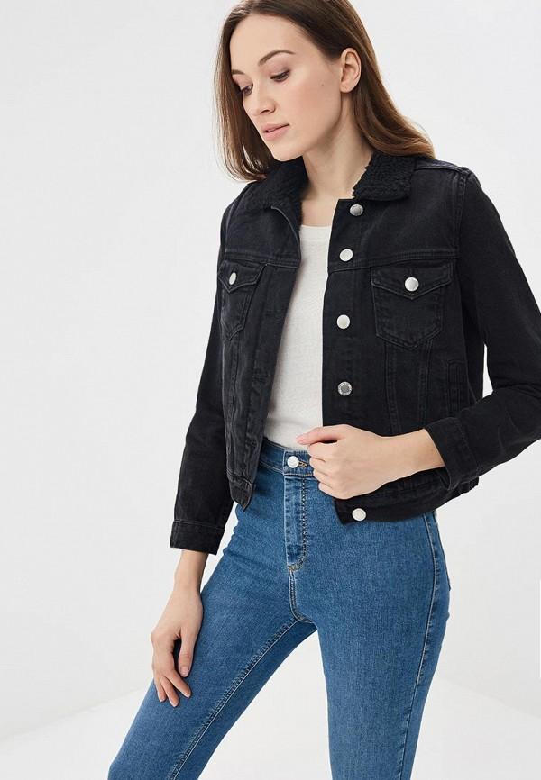 Куртка джинсовая Miss Selfridge Miss Selfridge MI035EWAWIB7 куртка утепленная miss selfridge miss selfridge mi035ewwsw47