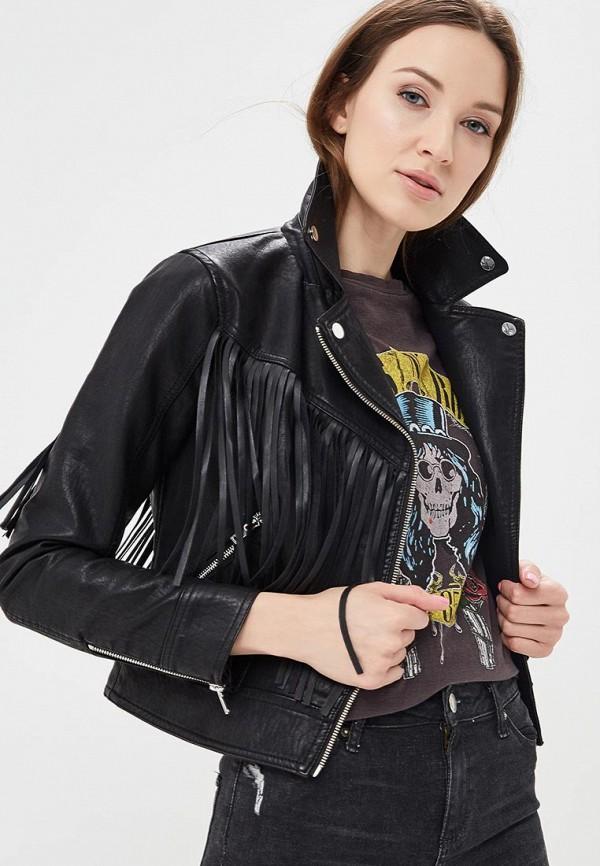 Фото Куртка кожаная Miss Selfridge. Купить с доставкой