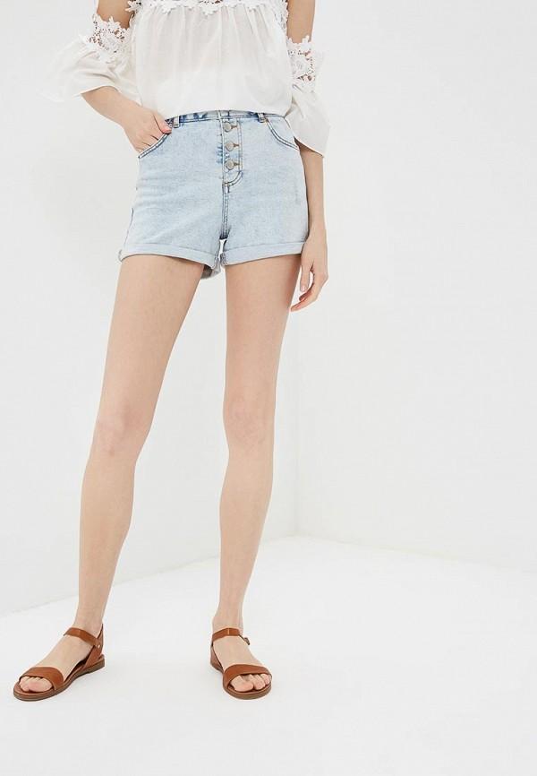 Купить Шорты джинсовые Miss Selfridge, MI035EWBLXX8, голубой, Весна-лето 2018
