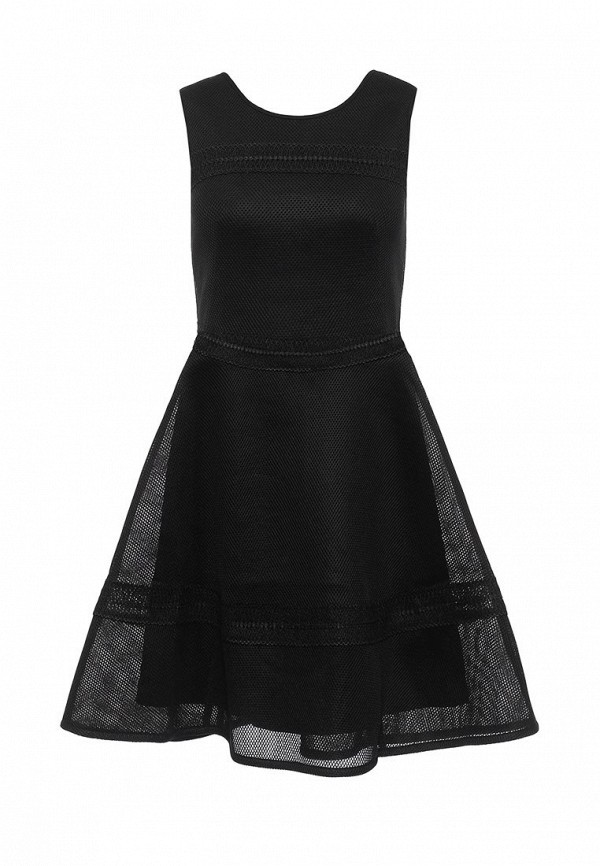 Платье-миди Miss Selfridge 10D10TBLK