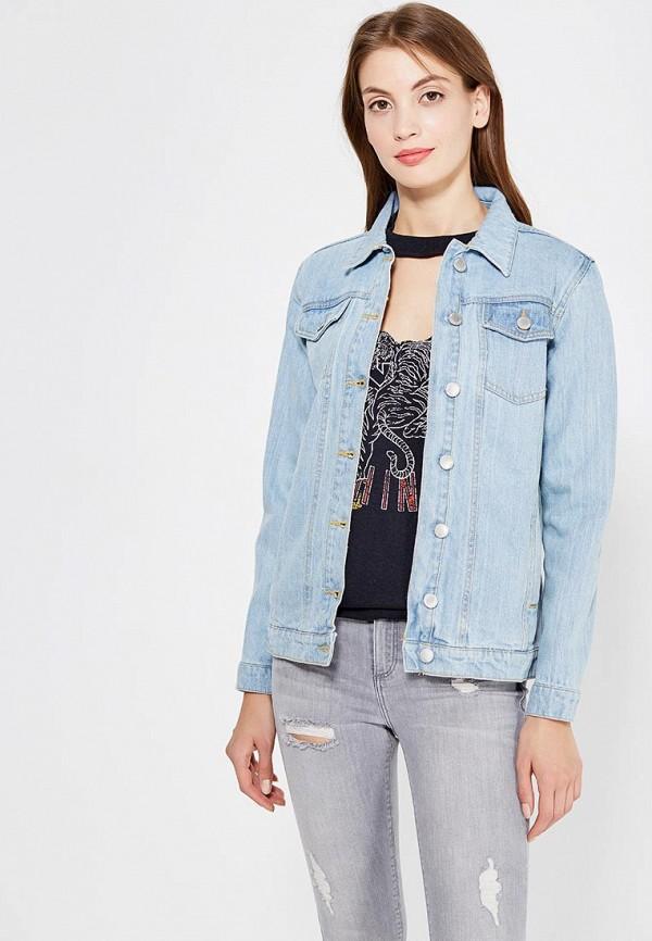 Куртка джинсовая Miss Selfridge Miss Selfridge MI035EWUQN11 джемпер miss selfridge miss selfridge mi035ewzls89