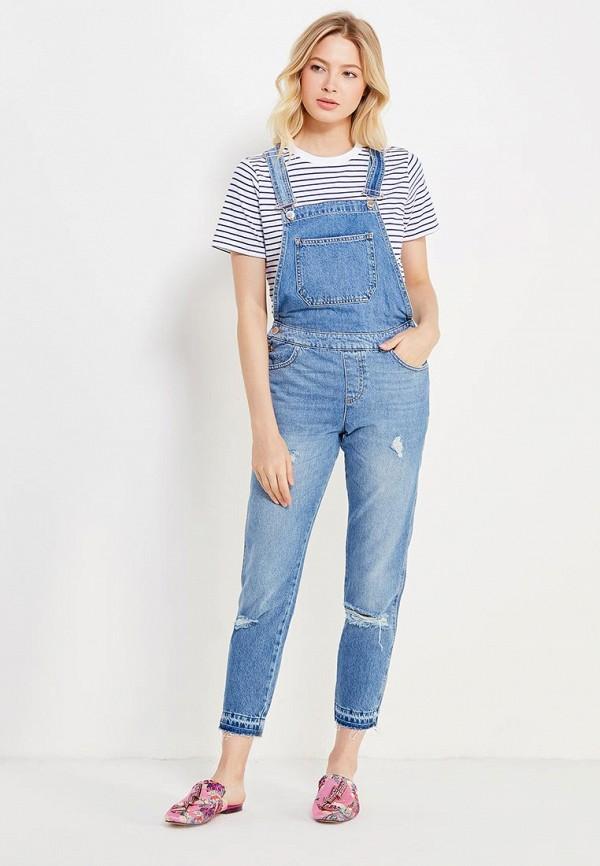 Комбинезон джинсовый Miss Selfridge Miss Selfridge MI035EWUZS55