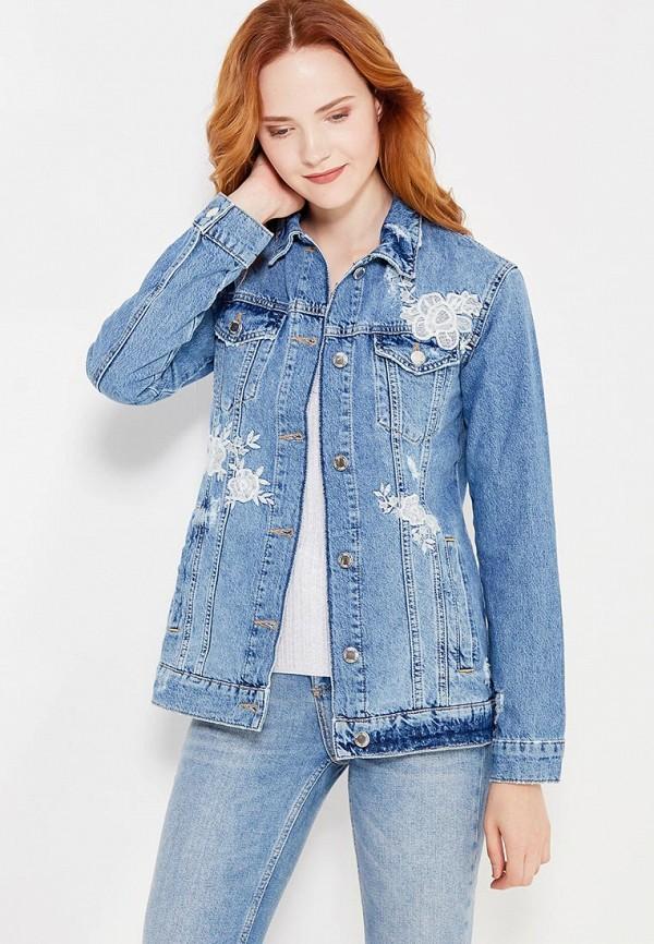Куртка джинсовая Miss Selfridge Miss Selfridge MI035EWWFZ54 куртка утепленная miss selfridge miss selfridge mi035ewzlt18