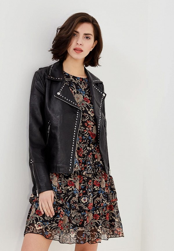 Куртка кожаная Miss Selfridge Miss Selfridge MI035EWWSW57 платье miss selfridge miss selfridge mi035ewxyg42