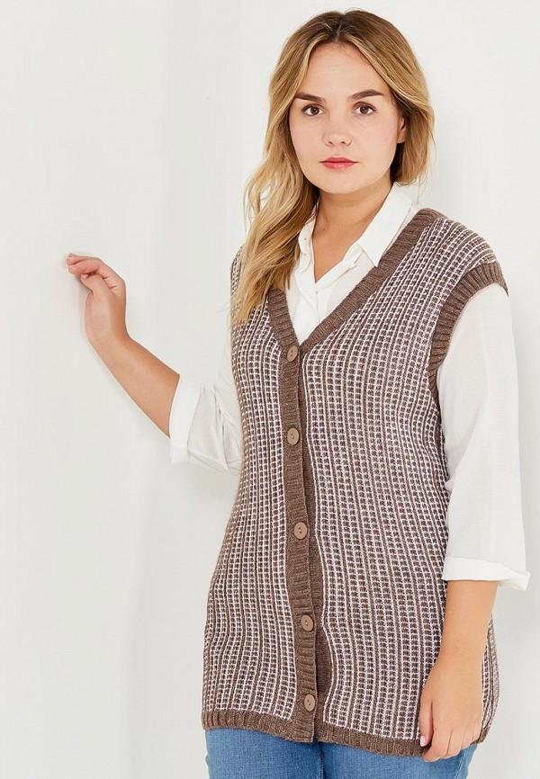 Жилет Milana Style Milana Style MI038EWVVY75 платье milana style цвет коричневый