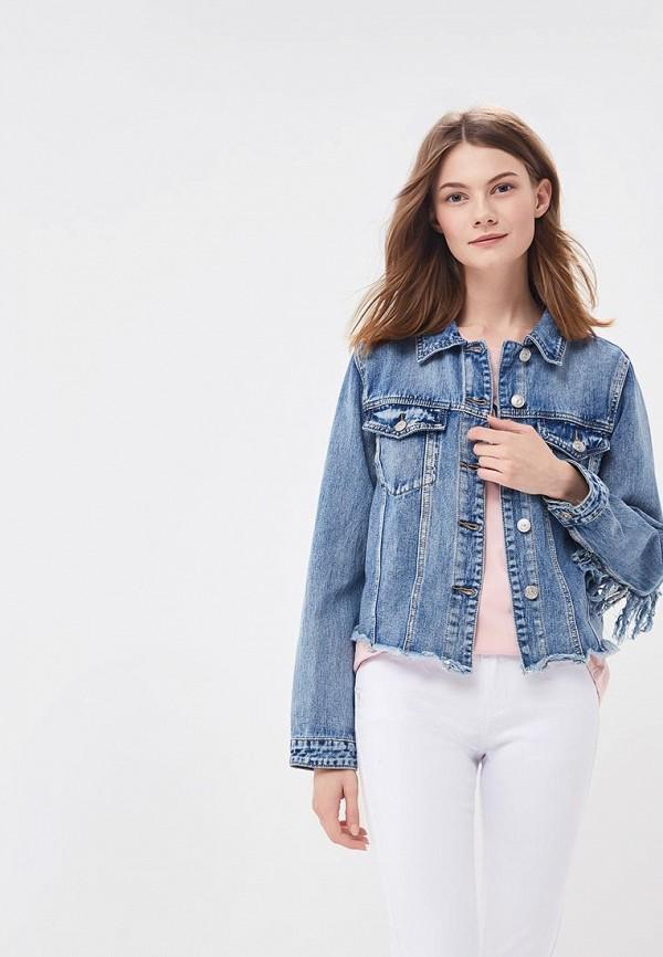 Куртка джинсовая Miss Bon Bon Miss Bon Bon MI045EWBDVV1 цена