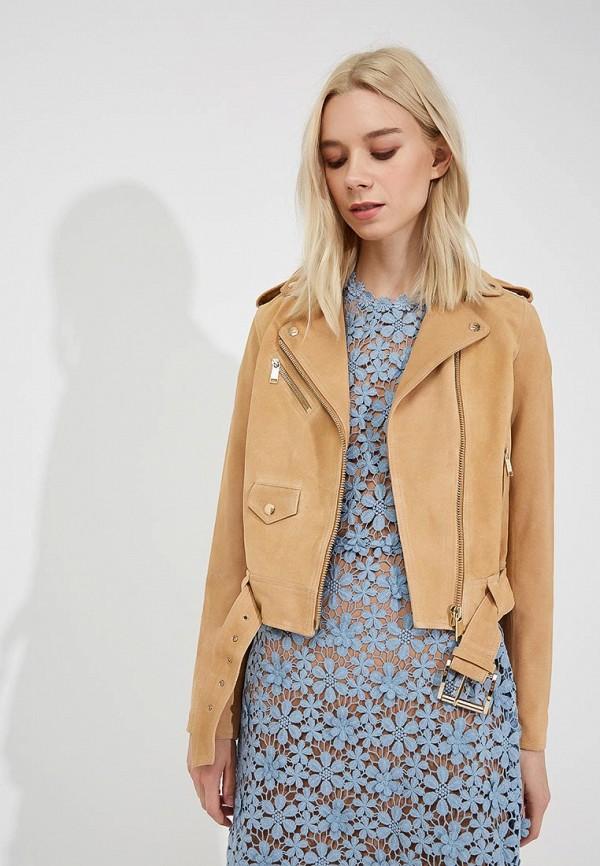 Фото Куртка кожаная Michael Michael Kors. Купить с доставкой