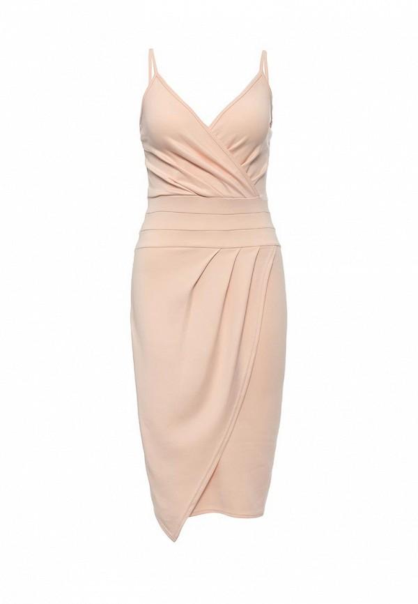 Купить женское платье Missi London розового цвета