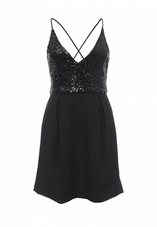 Купить женское вечернее платье Missi London черного цвета
