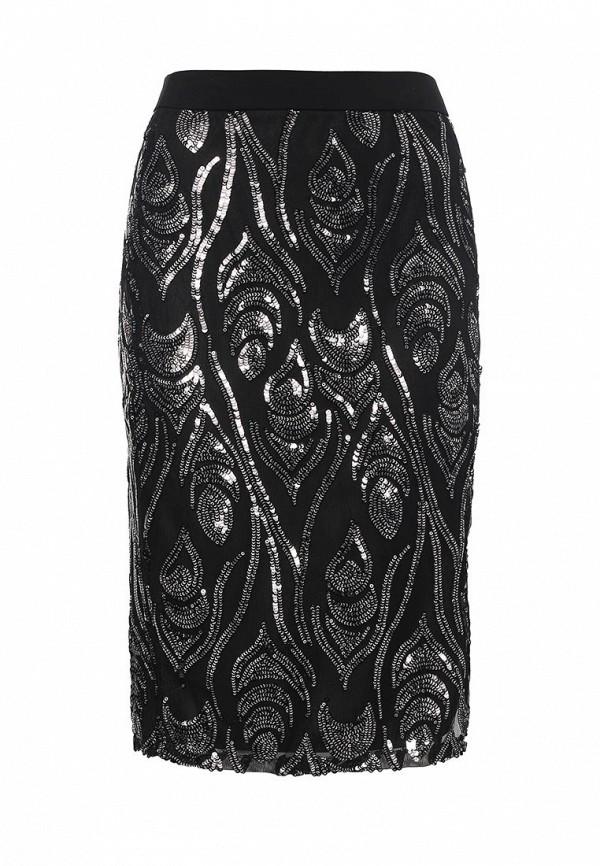 Прямая юбка Missi London MC2743B