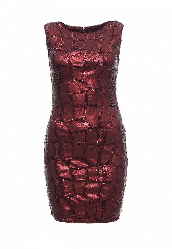 Купить женское платье Missi London красного цвета
