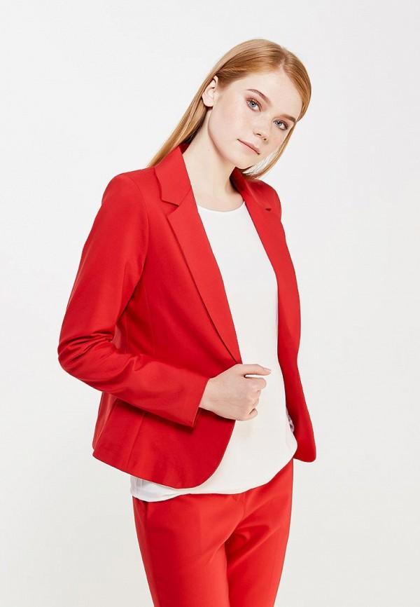 Пиджак Miss by Valentina. Цвет: красный