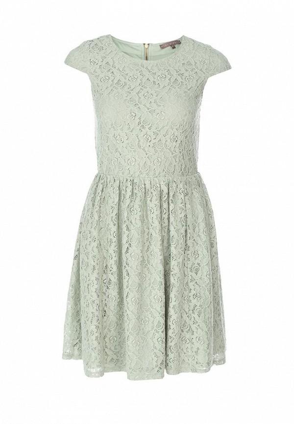 Платье Mint&Berry. Цвет: зеленый