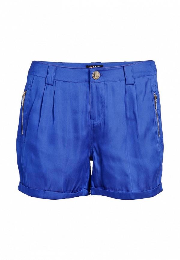 Женские синие шорты Morgan