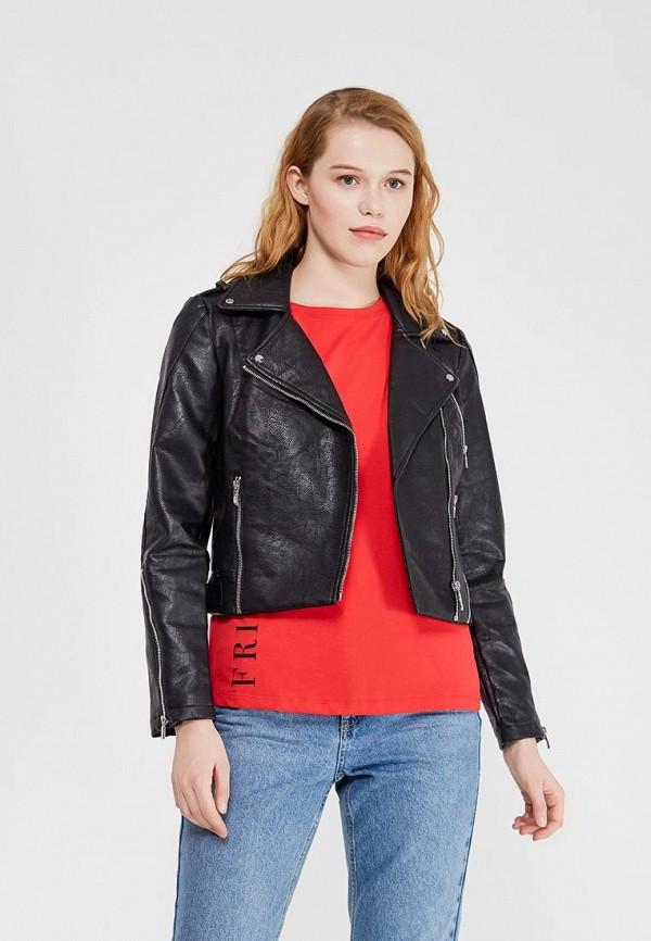 Куртка кожаная Morgan Morgan MO012EWZIG89 куртка morgan morgan mo012ewvac93